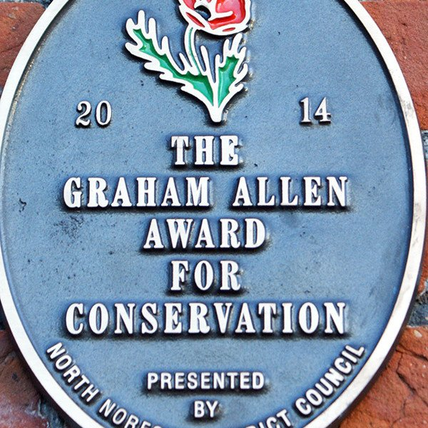 The Graham Allen Award for Conservation.