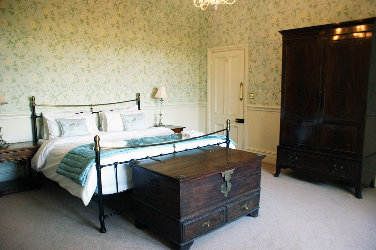 Bedroom 3 at Bessingham Manor.