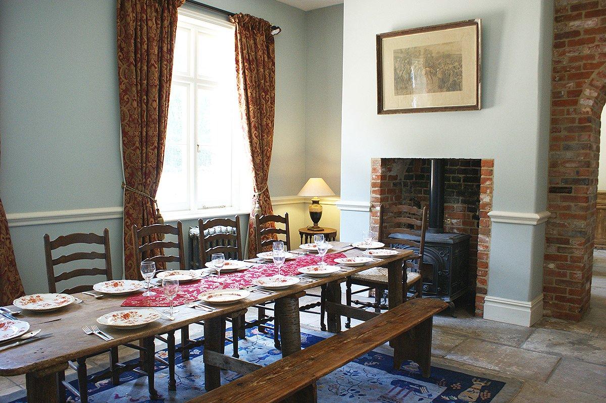 Bessingham Manor Dining Room.