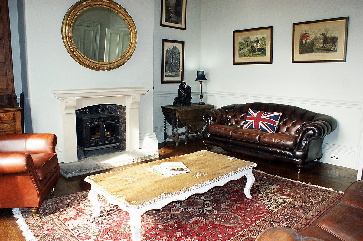 The Study at Bessingham Manor.