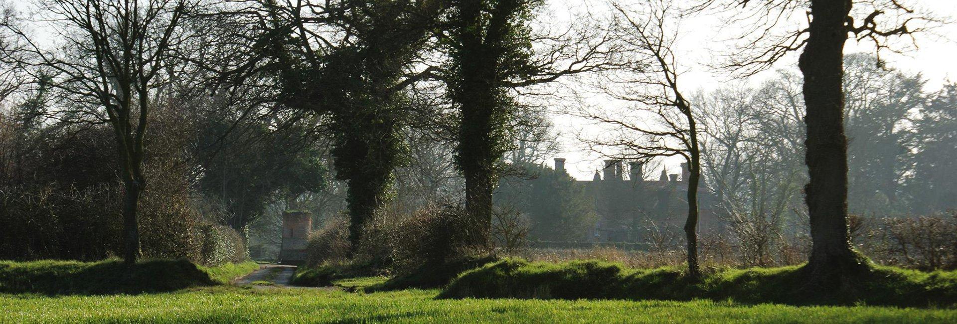 The area surrounding Bessingham Manor.