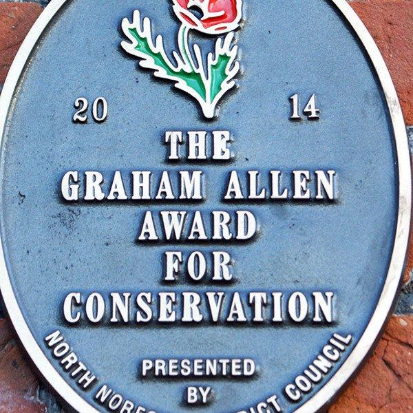 The Graham Allen Award for Conservation.