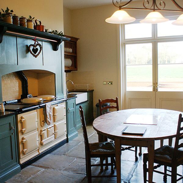 Kitchen at Bessingham Manor.