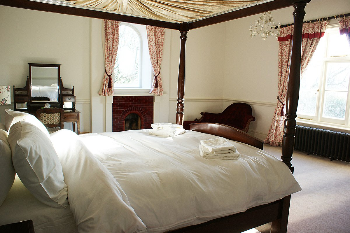 Bedroom 2 at Bessingham Manor.