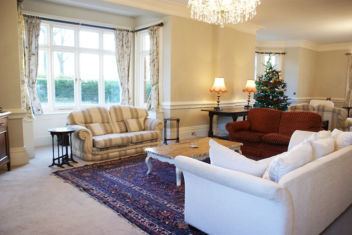 The Drawing Room at Bessingham Manor.