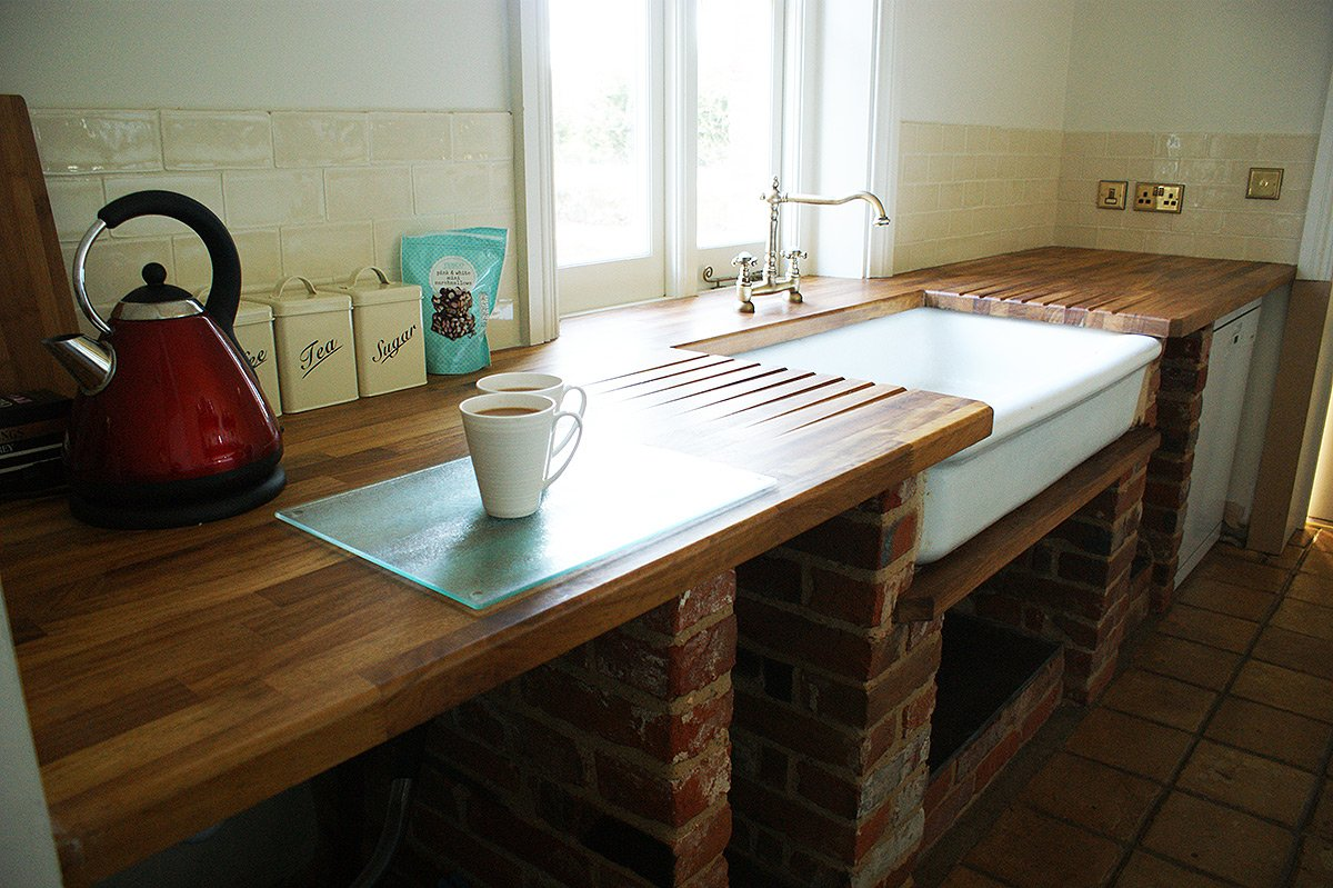 The Scullery at Bessingham Manor.