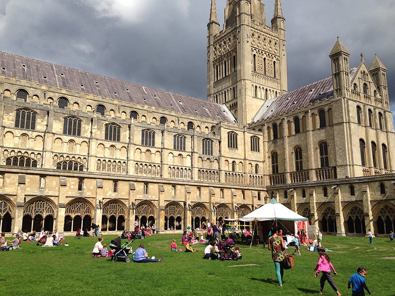 Norwich Cathedral. Image: Pollywiggle.